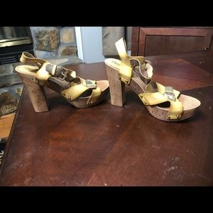Southern Fried Chicks heels brand new size 8.5